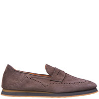 Туфли-лоферы Andrea Ventura коричневого цвета, фото