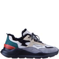 Мужские кроссовки D.A.T.E. с вставками серого цвета, фото