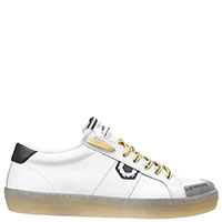 Белые кеды Moa на шнуровке, фото
