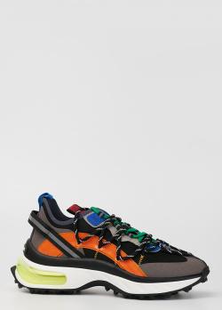 Мужские кроссовки Dsquared2 Bubble с двойной шнуровкой, фото