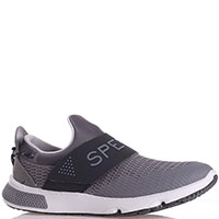 Кроссовки без шнуровки Sperry 7 Seas Slip On серого цвета, фото