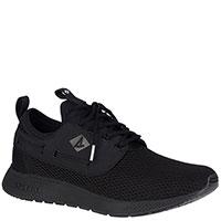 Текстильные кроссовки Sperry 7 Seas Carbon черного цвета, фото