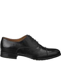 Черные туфли Doucal's на шнуровке, фото