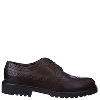 Туфли-броги Doucal's из гладкой кожи, фото