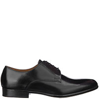 Классические туфли-дерби Doucal's из гладкой кожи, фото