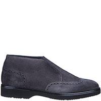 Замшевые ботинки Doucal's серого цвета, фото