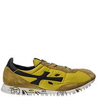 Кроссовки Premiata горчичного цвета, фото