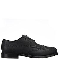 Туфли-броги Tod's черного цвета, фото