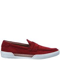 Красные туфли Tod's с элементом плетения, фото