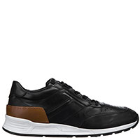 Черные кроссовки Tod's с коричневой вставкой, фото