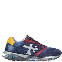Цветные кроссовки Premiata с принтованной подошвой, фото