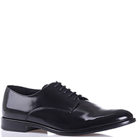 Туфли-дерби Emporio Armani из кожи черного цвета, фото