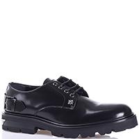 Черные туфли John Richmond из гладкой кожи, фото