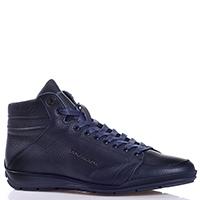 Синие ботинки Dino Bigioni на шнуровке, фото
