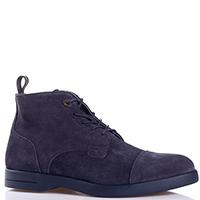 Замшевые ботинки Dino Bigioni синего цвета, фото