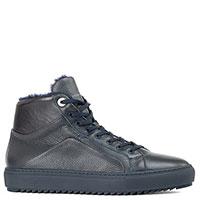Синие ботинки Dino Bigioni с мехом, фото