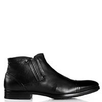 Черные ботинки Giampiero Nicola из гладкой кожи, фото
