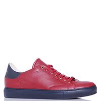 Красные кеды Roberto Cavalli из гладкой кожи, фото