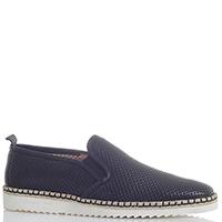 Черные туфли Giampiero Nicola из мягкой кожи на рельефной подошве, фото