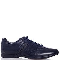 Кроссовки темно-синие Botticelli с синей шнуровкой, фото