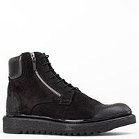 Черные ботинки Giampiero Nicola на меху, фото