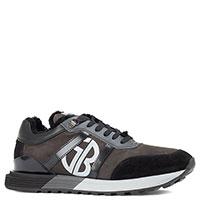Кроссовки Gianfranco Butteri с коричневыми вставками, фото