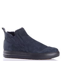 Синие ботинки Gianfranco Butteri на резинке, фото