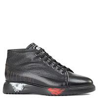 Утепленные ботинки Gianfranco Butteri черного цвета, фото