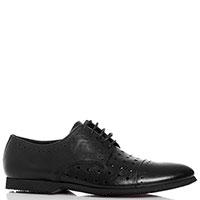 Черные туфли Botticelli со сквозной перфорацией, фото