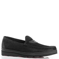 Туфли Gianfranco Butteri из замши черного цвета, фото