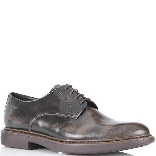 Мужские туфли-броги Samsonite коричневого цвета, фото