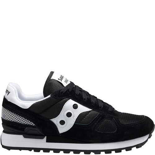 Мужские кроссовки Saucony Shadow Original черные с белым, фото