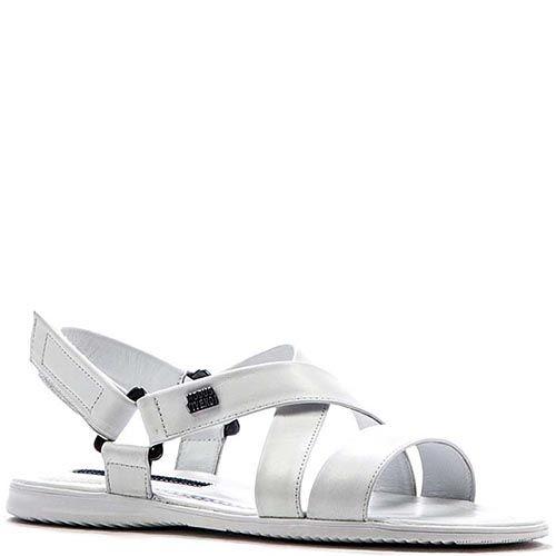 Мужские сандалии Modus Vivendi из кожа белого цвета, фото