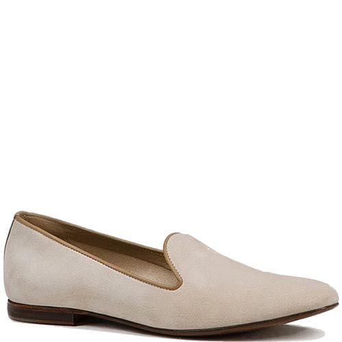 Мужские туфли Modus Vivendi из замши молочного цвета, фото
