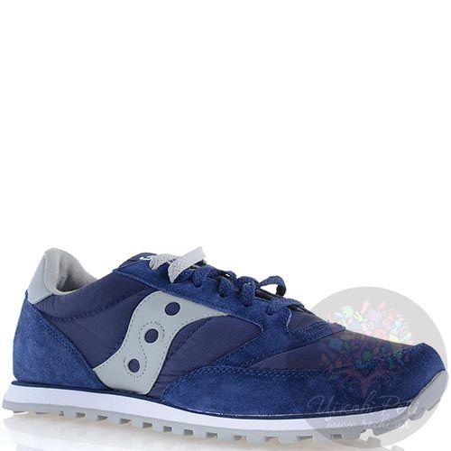 Мужские кроссовки Saucony Jazz Low Pro насыщенно-синие, фото