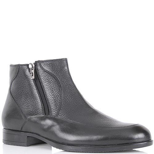 Ботинки Pakerson из натуральной кожи на молнии с наружной стороны, фото