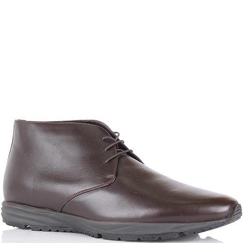 Ботинки Pakerson из натуральной кожи коричневого цвета, фото