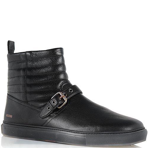 Стильные ботинки-угги Moschino со стеганным верхом, фото