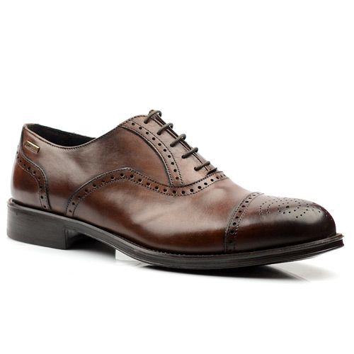 Мужские кожаные туфли с перфорацией Gianfranco Ferre, фото
