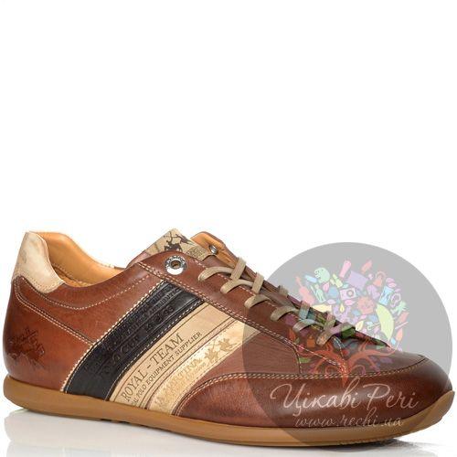 Кроссовки La Martina кожаные коричневые, фото