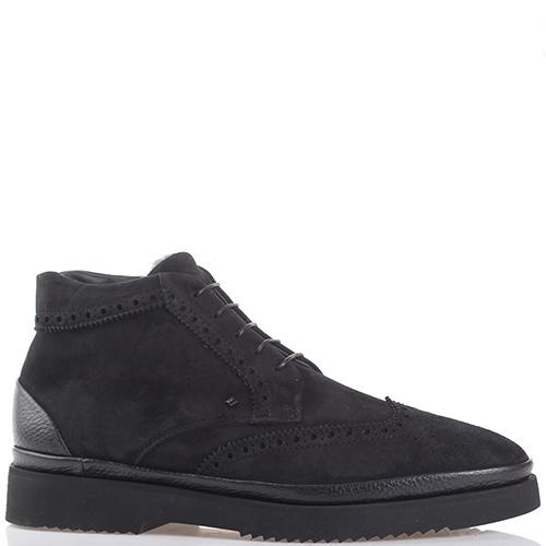 Черные ботинки Luca Guerrini на молнии, фото