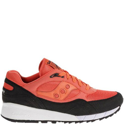 Кроссовки Saucony Shadow 6000 Coral-Black, фото