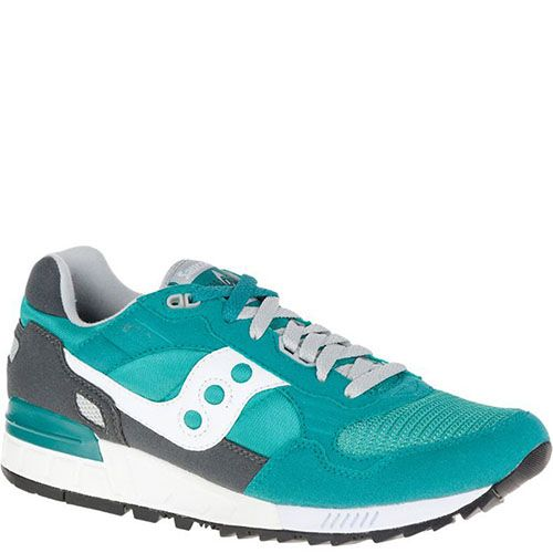 Кроссовки Saucony Shadow 5000 Aqua Green Charcoal, фото