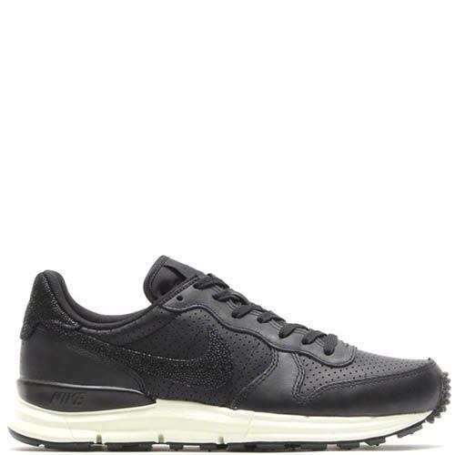 Кроссовки Nike Lunarinternationalist Pa мужские черного цвета, фото