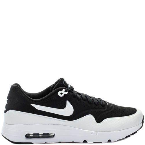 Кроссовки Nike Air Max 1 Ultra Moire мужские черного цвета, фото