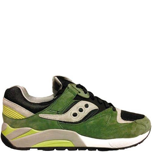 Мужские кроссовки Saucony Grid 9000 IP зеленые, фото