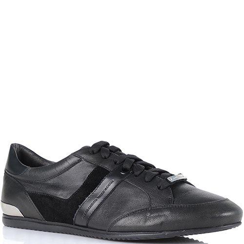 Мужские демисезонные кроссовки Alessandro Dell Acqua с замшевыми вставками, фото