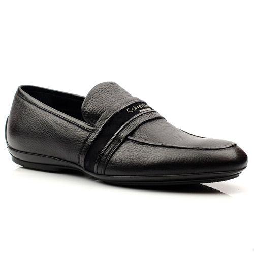 Мужские кожаные туфли Calvin Klein, фото
