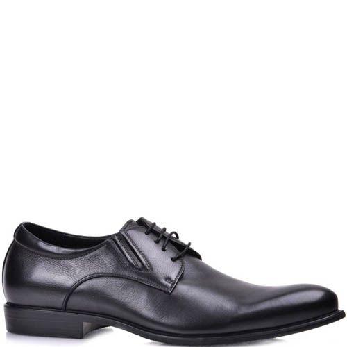 Туфли Grado мужские классические кожаные черного цвета, фото