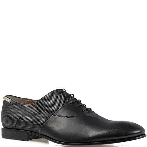 Мужские туфли Alessandro Dell'acqua с декоративной обработкой, фото